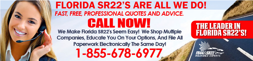 Cheap Florida SR22 Insurance Quotes - Quote & Filed in ...